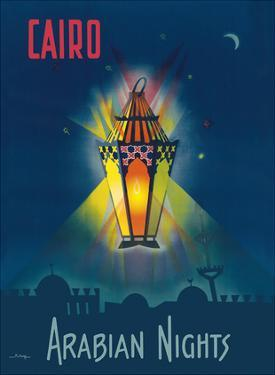 Cairo Egypt - The Arabian Nights - One Thousand and One Nights - Aladdin's Magic Lamp by M. Azmy