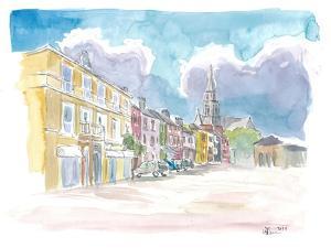 Clifden Connemara Street Scene In Ireland by M. Bleichner