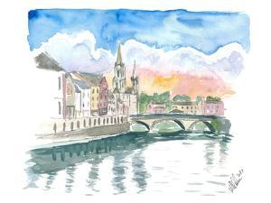 Cork Cityview with River Lee and Bridge by M. Bleichner