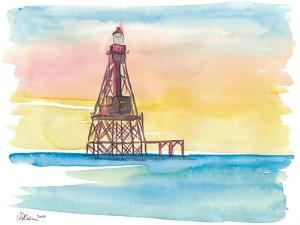 Iconic Lighthouse Marathon Florida Keys by M. Bleichner