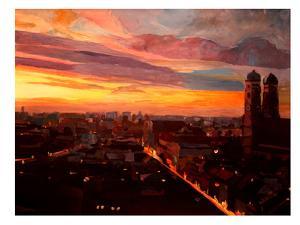 Munich Night 3 by M Bleichner