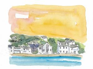Portree Isle of Skye Scotland Sunset by M. Bleichner