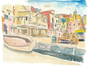 Procida Waterfront Peaceful Island in Italy by M. Bleichner