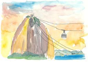 Rio View of Favela Santa Teresa by M. Bleichner