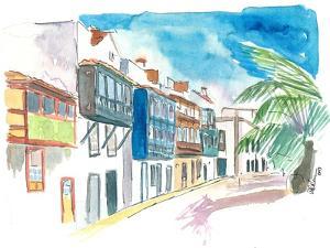 Santa Cruz de La Palma Street Balcony by M. Bleichner