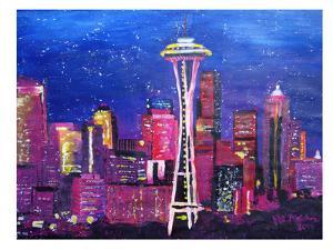 Seattle Stars by M Bleichner