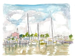 Setting Sail From Key West Marina by M. Bleichner