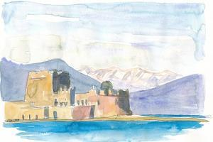 The Water Castle of Bourtzi by M. Bleichner