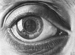 Eye by M. C. Escher