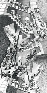 House of Stairs by M. C. Escher