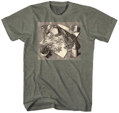 M.C. Escher- Reptiles