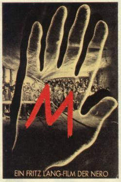 M, German Movie Poster, 1931