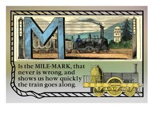 M is the Mile-Mark