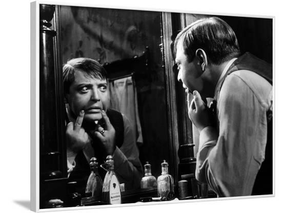 M le Maudit (M) by FritzLang with Peter Lorre, 1931 (b/w photo)--Framed Photo