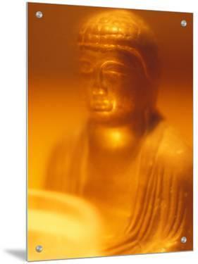 Golden Buddhist Statue by M.N.