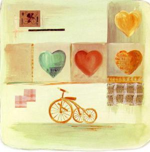 Love Ride I by M. Patrizia