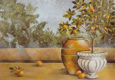 Orange House near Amalfi by M. Patrizia