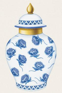 Vase III by M. Romagnoli