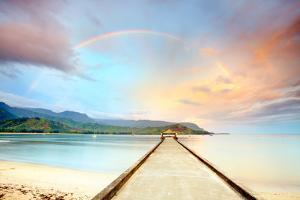 Kauai Hanalei Pier by M Swiet Productions