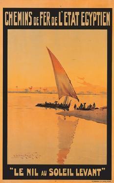 Le Nil Au Soleil Levant by M. Tamplough