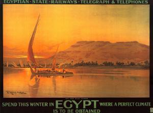 Spend This Winter in Egypt by M. Tamplough