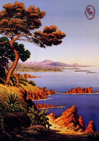La Cote d'Azur by M. Tangry