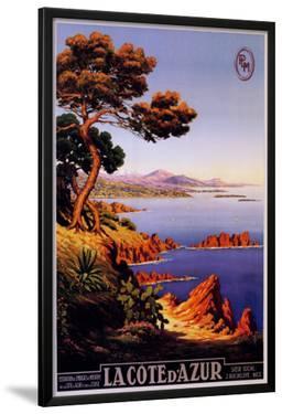 La Cote d'Azur by M. Tangry