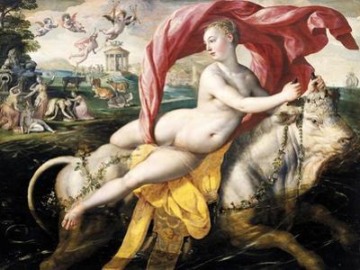 Rape of Europa, 1572