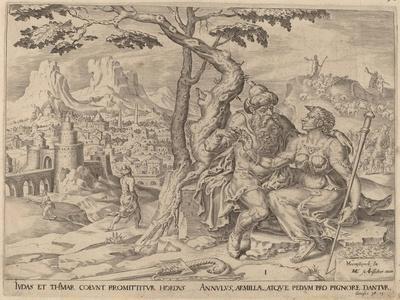 Judah Giving Tamar the Pledge, C.1566