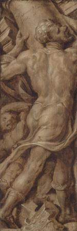 Samson Destroying the Temple, Death of Samson