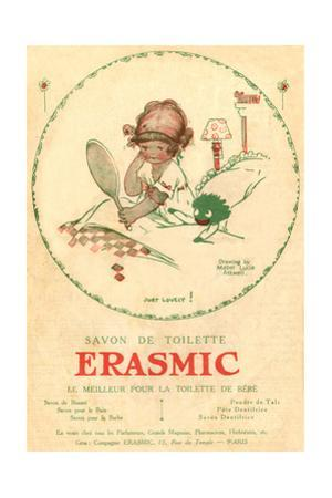 Erasmic Soap Advertisement