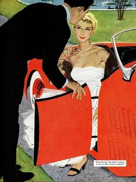 "No Love Allowed, A - Saturday Evening Post ""Leading Ladies"", March 26, 1955 pg.26 by Mac Conner"