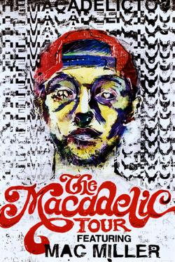 Mac Miller The Macadelic Tour Music Poster Print