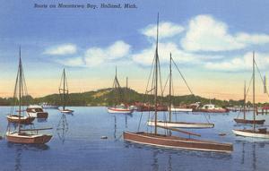 Macatawa Bay, Holland, Michigan