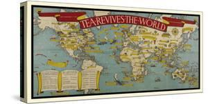 Tea Revives The World by Macdonald Gill