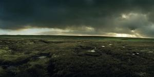 A Peat Covered Landscape Near Port of Ness by Macduff Everton