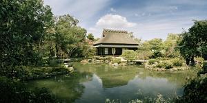 A Pond and Tea House in Isuien Garden, Nara's Most Splendid Garden by Macduff Everton