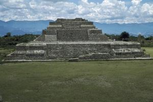 A Substructure on the East Side of the Main Plaza at Monte Alban by Macduff Everton