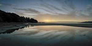 A Sunrise at Ohki Beach That Resembles a Rorschach Test by Macduff Everton