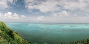 A View from South East Hill on Old Providence Island by Macduff Everton