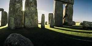 A View from the Center Section of Stonehenge by Macduff Everton