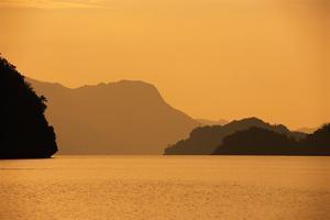 Andaman Sea and Mountains by Macduff Everton