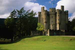 Braemar Castle, Scotland by Macduff Everton