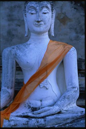 Buddha Statue at Wat Yai Chai Mongkol by Macduff Everton