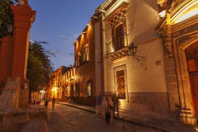 Cuna De Allende, a Street in Central San Miguel De Allende by Macduff Everton