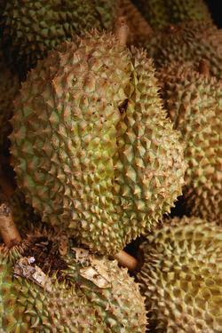 Durians for Sale at Market by Macduff Everton