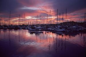 Harbor at Sunset by Macduff Everton