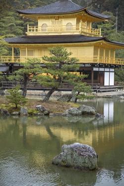 Kinkaku-Ji, the Temple of the Golden Pavilion by Macduff Everton