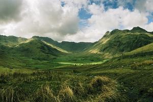 Langdale Pikes in Lake District National Park by Macduff Everton