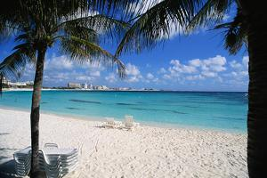 Lounge Chairs on Beach at Club Med by Macduff Everton